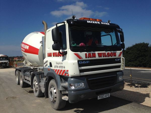 Concrete Mixer Truck Hire in Workington, Cumbria - Ian Wilson Haulage