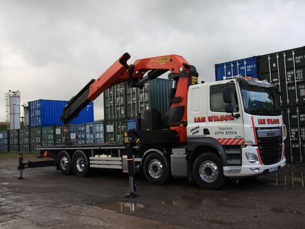 HIAB Crane Hire in Workington, Cumbria - Ian Wilson Haulage