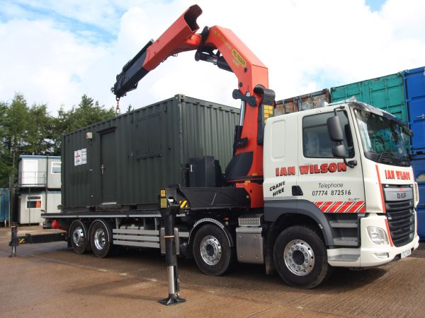 Mobile Portable Office Hire in Workington, Cumbria - Ian Wilson Haulage
