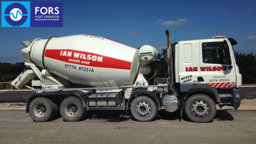 Concrete Mixer Truck Hire in Workington, Cumbria