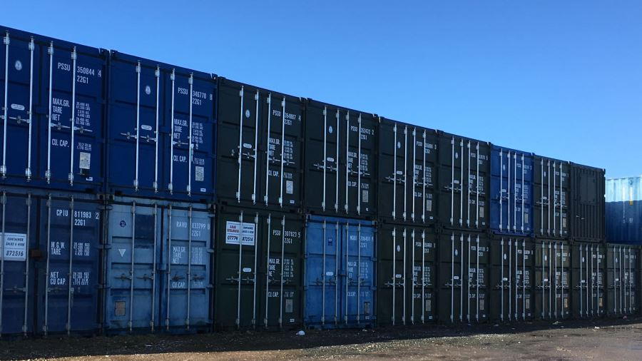 Secure Container Storage in Workington, Cumbria